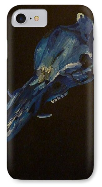 IPhone Case featuring the painting Boar's Skull No. 2 by Joshua Redman