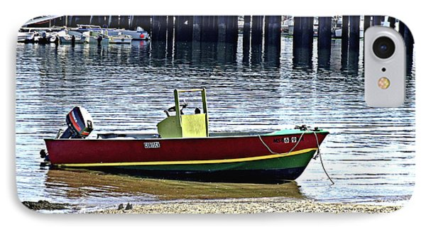 Boat At The Beach Provincetown IPhone Case