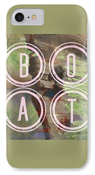Boat IPhone Case by Brandi Fitzgerald