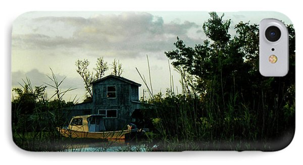 Boat House Phone Case by Cynthia Powell