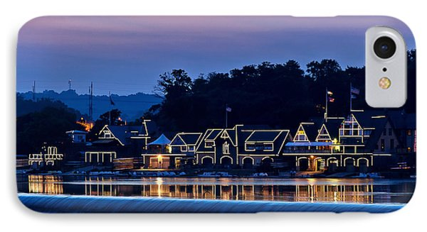 Boat House Row Phone Case by John Greim