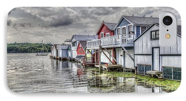 Boat Houses In The Finger Lakes IPhone Case