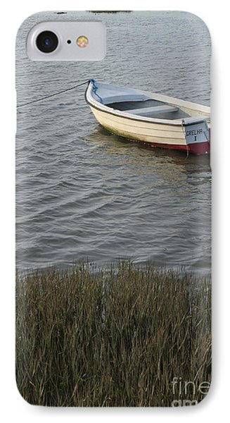 Boat In Ria Formosa - Faro IPhone Case by Angelo DeVal