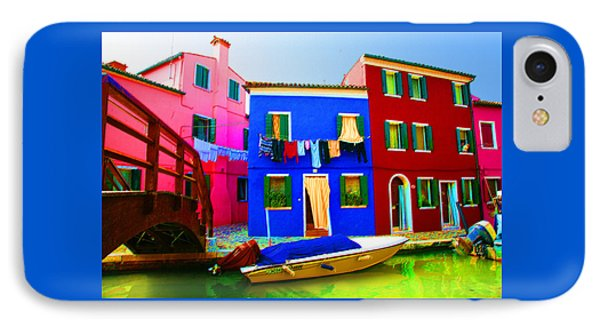 Boat Matching House Phone Case by Donna Corless