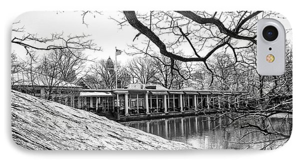 Boathouse Central Park IPhone Case