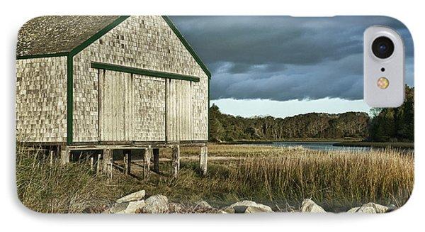 Boathouse IPhone Case by John Greim