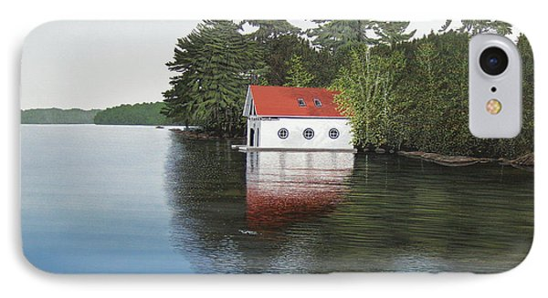 Boathouse Phone Case by Kenneth M  Kirsch