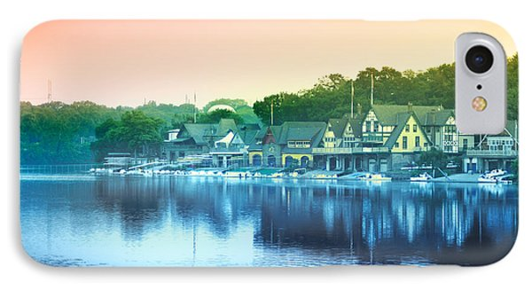 Boathouse Row Phone Case by Bill Cannon