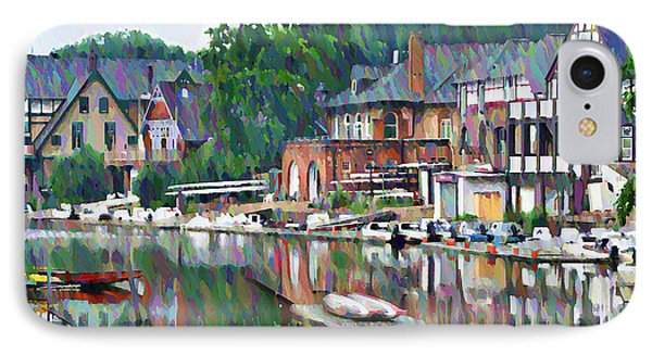Boathouse Row In Philadelphia IPhone 7 Case