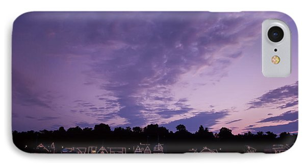 Boathouse Row In Twilight Phone Case by Bill Cannon