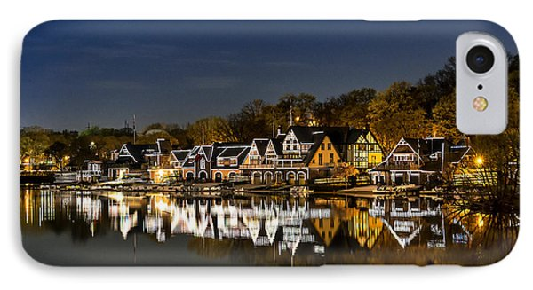 Boathouse Row IPhone Case by John Greim