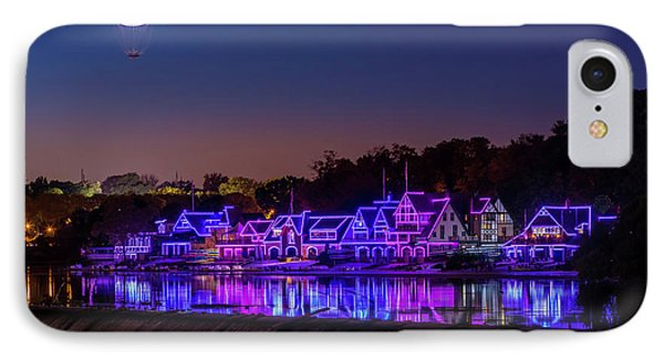 Boathouse Row IPhone Case by Marvin Spates