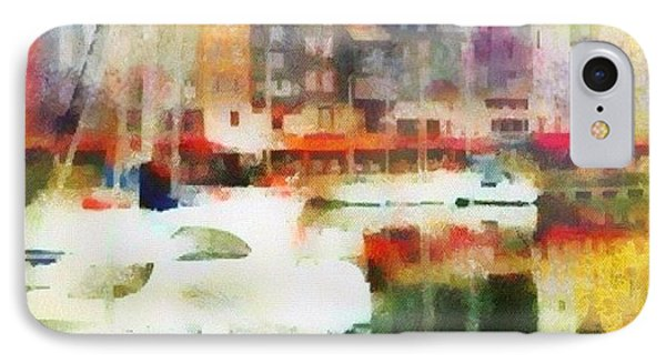 Boating In Honfleur IPhone Case by Susan Libby