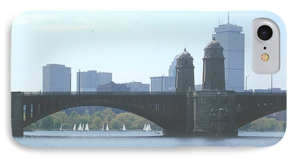Boating On The Charles IPhone Case