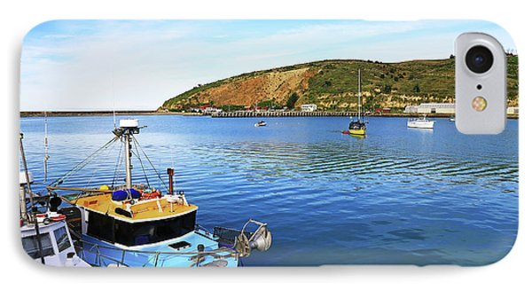 IPhone Case featuring the photograph Boats At Friendly Bay by Nareeta Martin