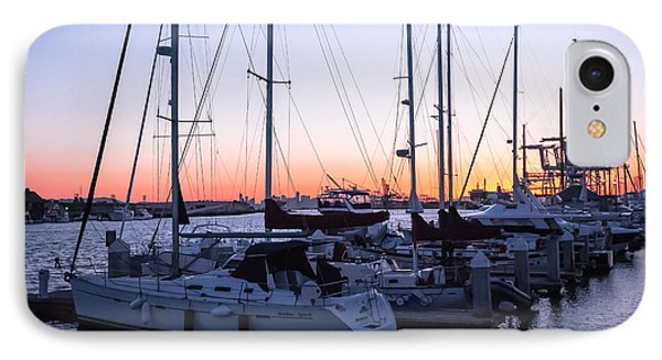 Boats At Jack London Square IPhone Case