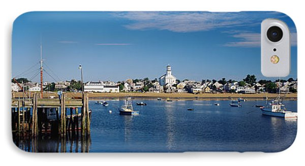 Boats In The Sea, Provincetown, Cape IPhone Case by Panoramic Images