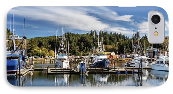 IPhone Case featuring the photograph Boats In Winchester Bay by James Eddy