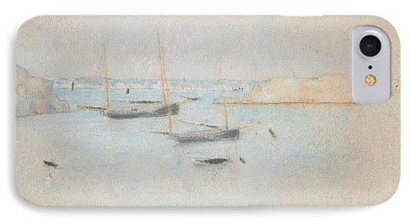 Boats IPhone Case by Julian Alden Weir