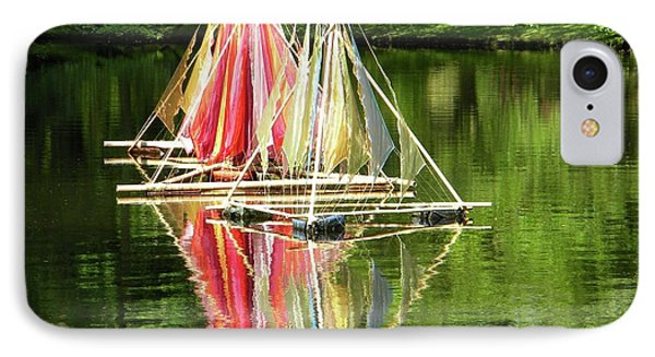 IPhone Case featuring the photograph Boats Landscape by Manuela Constantin