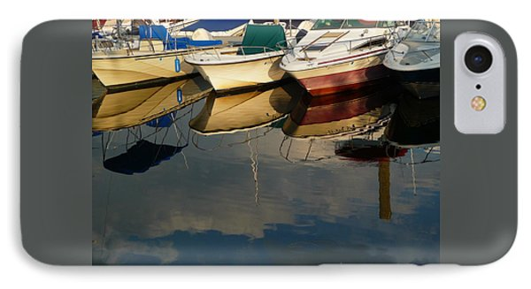 IPhone Case featuring the photograph Boats Reflected by Margie Avellino