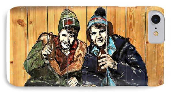 Bob And Doug Mckenzie IPhone Case by Carly Jaye Smith