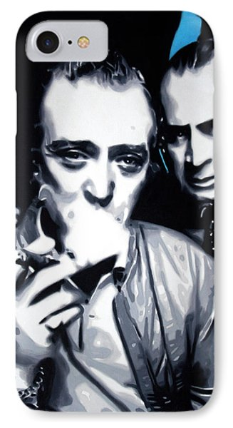 Bob And Mic 2013 IPhone Case by Luis Ludzska