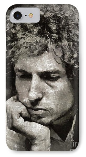 Bob Dylan By Mary Bassett IPhone Case