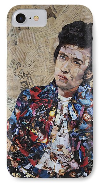 Bob Dylan Collage IPhone Case