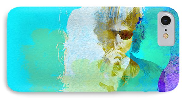Bob Dylan IPhone 7 Case by Naxart Studio
