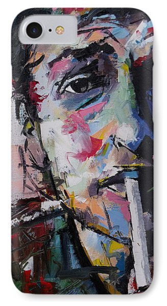 Bob Dylan IPhone Case by Richard Day
