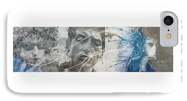 Bob Dylan Triptych IPhone Case