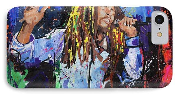 Bob Marley IPhone Case by Richard Day