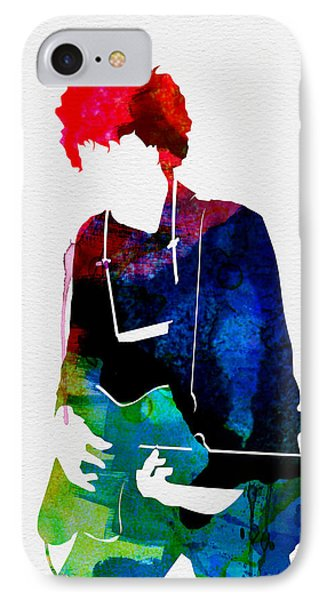 Bob Watercolor IPhone Case by Naxart Studio