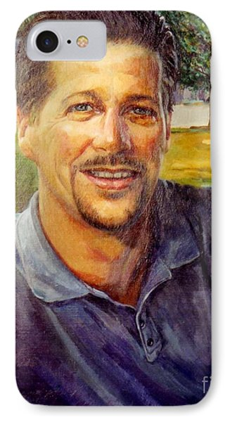 IPhone Case featuring the painting Bobby by Stan Esson