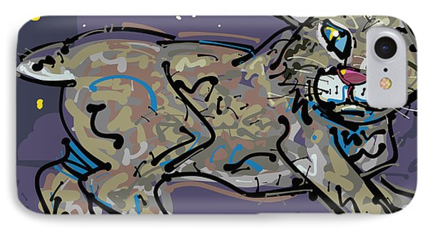 Bobcat IPhone Case by Brett LaGue