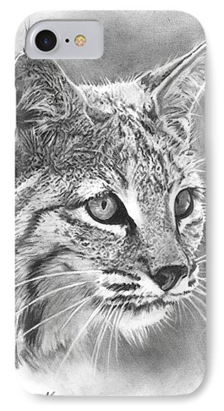 Bobcat IPhone Case by Reed Palmer