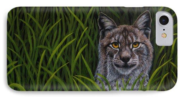 Bobcat IPhone Case by Veikko Suikkanen