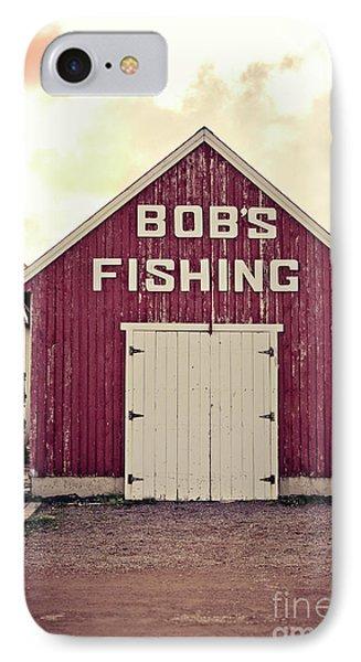 Bob's Fishing North Rustico IPhone Case by Edward Fielding