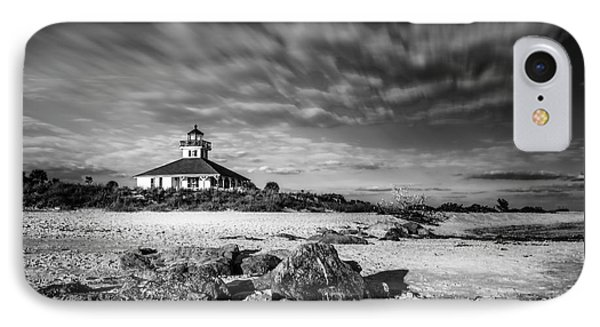 Boca Grande Florida Bw IPhone Case by Marvin Spates