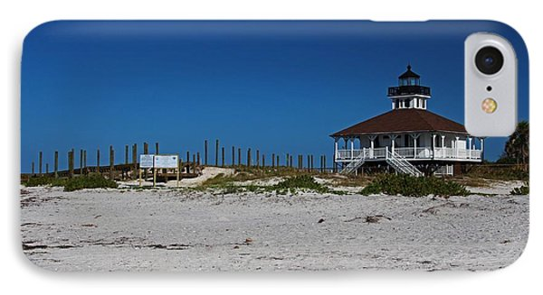 IPhone Case featuring the photograph Boca Grande Lighthouse Ix by Michiale Schneider