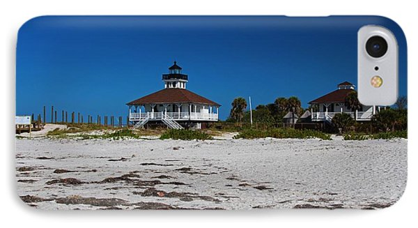 IPhone Case featuring the photograph Boca Grande Lighthouse X by Michiale Schneider