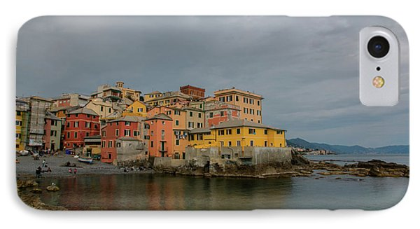 Boccadasse Bay, Genoa, Italy IPhone Case