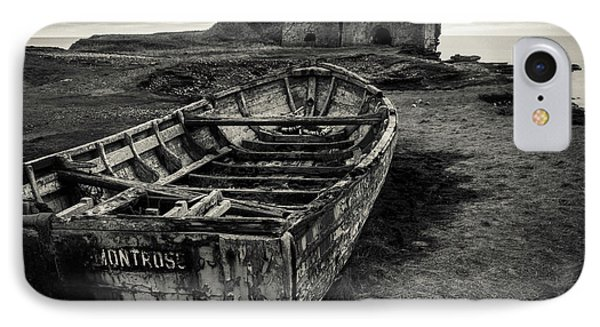 Boddin Point Wreck IPhone Case by Dave Bowman