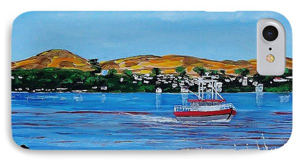 Bodega Bay From Campbell Cove IPhone Case by Mike Caitham