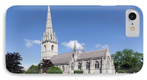 Bodelwyddan Church Phone Case by Steev Stamford