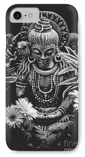 IPhone Case featuring the photograph Bodhisattva Parametric by Sharon Mau