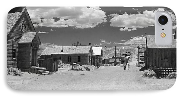 Bodie A Ghost Town Infrared  Phone Case by Christine Till