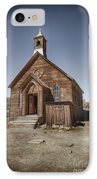 IPhone Case featuring the photograph Bodie Church by Jim  Hatch