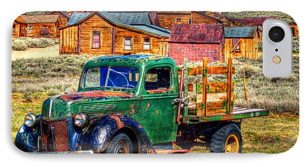 Bodie Ghost Town Green Truck IPhone Case